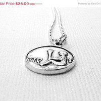 Mothers Day Sale Virgo Necklace, Sterling Silver