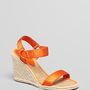 Lauren Ralph Lauren Espadrille Platform Wedge Sandals - Indigo | Bloomingdale&#x27;s