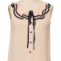 Darling In Ruffles Blouse