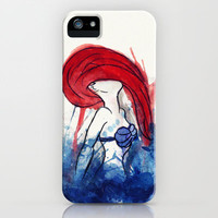 Ariel Splash iPhone & iPod Case by Sara Eshak
