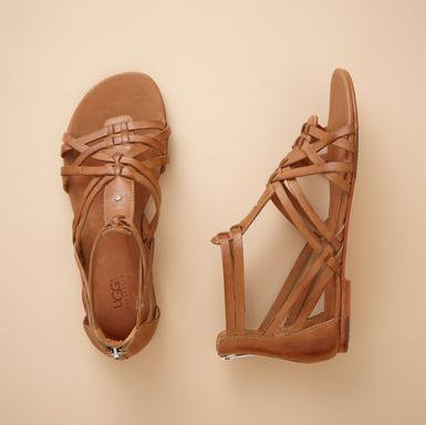 U G G  GODDESS GLADIATOR SANDALS - Sandals - Footwear &amp; Bags | Robert Redford&#x27;s Sundance Catalog