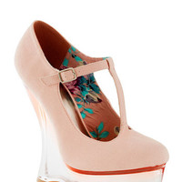 Stay Glassy, San Diego Wedge | Mod Retro Vintage Wedges | ModCloth.com