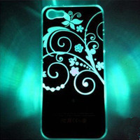 LED Shining  When Phone Call Nice Hard Cover Case ForIphone 4/4s/5