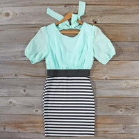 Dakota Dress in Mint, Sweet Women's Bohemian Clothing