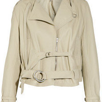 Edun | Leather biker jacket | NET-A-PORTER.COM
