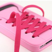 cute iShoes Silicone soft iPhone 4/4S/5 Case