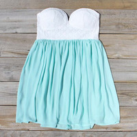 Sweetheart &amp; Mint Dress, Sweet Women&#x27;s Bridesmaid &amp; Party Dresses
