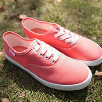 Sweet Pink Canvas Shoe