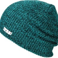 Neff Daily Heather Turquoise & Black Beanie