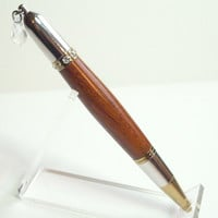 Swarovski Clear Crystal Burmese Rosewood  Diva Pen