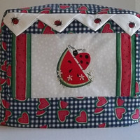 Lady Bug Toaster Cover - 2 Slice