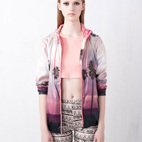 PRINT NYLON JACKET - NEW PRODUCTS - WOMAN -  United Kingdom
