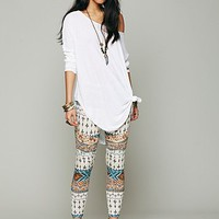Free People Printed Pusher Pant