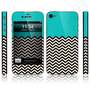 [grlhx110039]Geometric Pattern Full Body Sticker For Iphone 4/4s/5