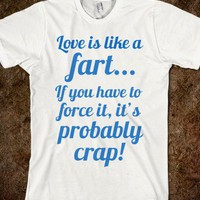 Love/crap - ALLStopsLeadHere! - Skreened T-shirts, Organic Shirts, Hoodies, Kids Tees, Baby One-Pieces and Tote Bags