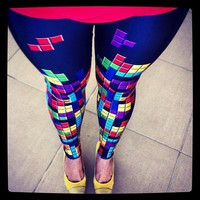 Retro Gamer Leggings - lolobu