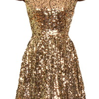 Babydoll Disco Dress | Sequin Dresses | Rickety Rack