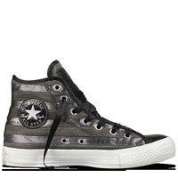 Converse - Chuck Taylor Studded Flag - Hi - Black/Silver