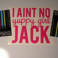 Yuppy Girl Vinyl Decal Sticker - Car Window - JDM - Dynasty Jack Duck