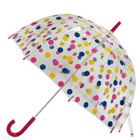 Candy Sprinkling Umbrella in Raspberry | Mod Retro Vintage Umbrellas | ModCloth.com