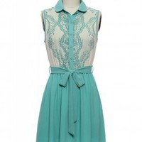 Little Mint Perfect Dress