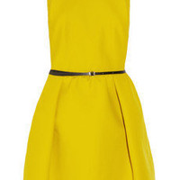Carven | Cotton-twill dress | NET-A-PORTER.COM
