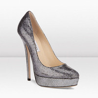 Jimmy Choo | Eros | Glitter Fabric Shoes For Autumn Winter 11 | JIMMYCHOO.COM
