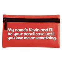 Waldo Pancake Pencil Case - My names Kevin - 7.99 - A fantastic range of Gifts for Her gifts, cards and decoration from Our Big Day - Gifts, Wedding and Party Accessories