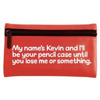 Waldo Pancake Pencil Case - My names Kevin - £7.99 - A fantastic range of Gifts for Her gifts, cards and decoration from Our Big Day - Gifts, Wedding and Party Accessories
