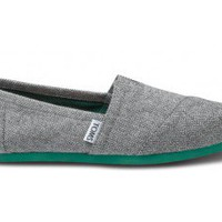 Grey Herringbone Women&#x27;s Classics | TOMS.com