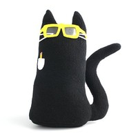 Kitty Go Nerdy Plush