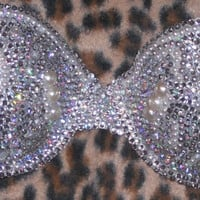 Mermaid Vintage And Pearl Crystal  Multi Colour Multiway/Strapless Bra Any Size A-F Cups