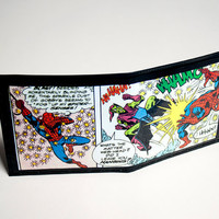 Spiderman wallet by purplecactusdesign on Etsy