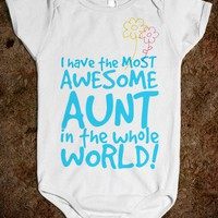 THE MOST AWESOME AUNT IN THE WHOLE WORLD!