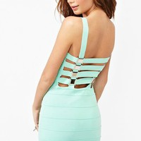Buckle Up Bandage Dress in What's New at Nasty Gal