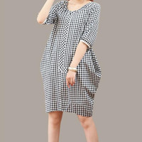 Summer dress woman comfortable Leisure cotton dress