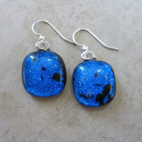 Blue Earings, Dangly Earrings, Hypoallergenic, Blue Jewelry - Stella - 1717 -3
