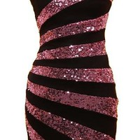 Swirled Candy Dress | Sequin Party Dresses | Rickety Rack