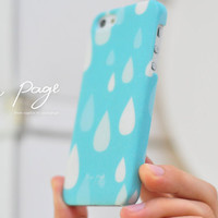 Apple iphone case for iphone iphone 5 iphone 4 iphone 4s iPhone 3Gs : Rain drop