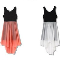 SUMMER ROMANCE HIGH-LOW DRESS