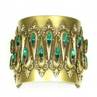 Remy Cuff (Green) | AUDEN Jewelry