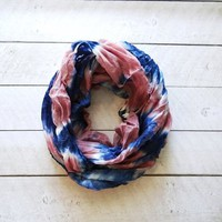 Tie Dye Infinity Scarf from JuicyDealz