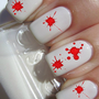 Blood Splatter Nail Decals