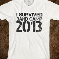 I survived band camp 2013