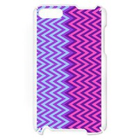 Purple - Blue Chevron Itouch2 Case&gt; Itouch2 Cases&gt; Ornaart