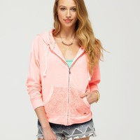 Neon Tide Hoodie - Roxy
