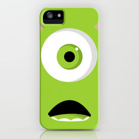 Mike Wazowski iPhone & iPod Case by Bearded Manatee