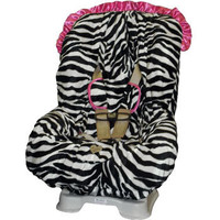 Zoe Zebra Toddler Car Set Cover