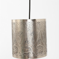 Etched Lamp Shade