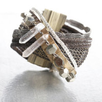 Limited Edition Multi Media Cuff - $265.00 : Cynthia Desser Accessories, Standout Accessories For Women and Men - Made in the USA